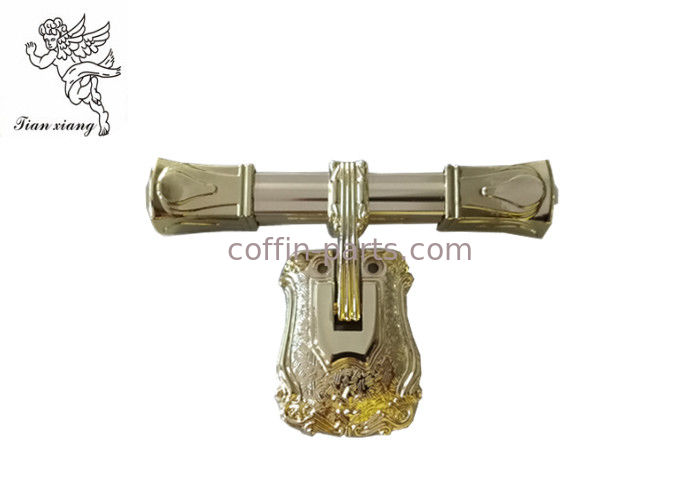 Golden Funeral Metal Casket Handle Adult Europe Style H9023 Customized